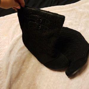 Steve madden heeled boots